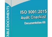 Iso 9001 internal audit checklists