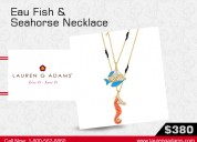 Buy our latest collection of sea life jewelry.