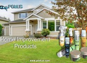 Home and residential improvement cleaning products