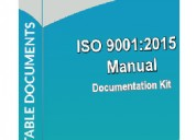 Iso 9001 manual - documentationconsultancy.com