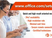Office setup - download and
