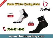 Nalini men thermal & wool socks by classic cycling
