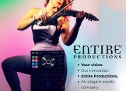 Experiential marketing agency | entire productions