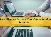Grab effective german translation services
