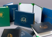 New wholesale certificate covers, college diploma