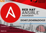 Red hat ansible online training and certification