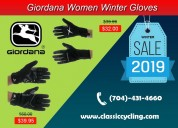 Winter clearance - giordana women cycling gloves