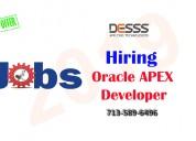Oracle apex developer jobs houston us