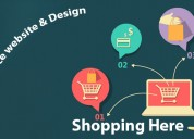 Hire professionals for e-commerce website redesign
