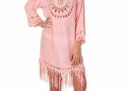 Ladies cover ups with crochet - exist inc
