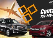 Book airport car service for new jersey airports