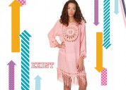 Ladies cover ups with crochet details - exist inc