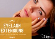 Enhance your beauty with eyelash extensions at wis