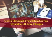 Get professional translation service providers