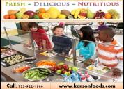Healthy food service programs in ocean, nj