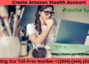 Create amazon stealth account