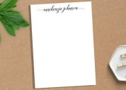 Acquire the best custom writing pads at less price