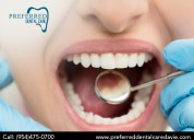 Affordable cavity protection service