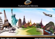 Nationwide moving and storage company