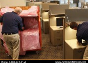 office movers with safety measures