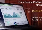 job oriented software testing qa/ba/istqb new week