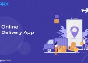 Online delivery app