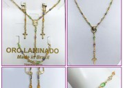 Made in brazil necklace set on wholesale price