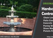 Stamped concrete contractors in md va