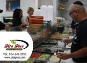 Healthy restaurant - pita plus