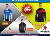 Winter clearance - hincapie cycling jersey for men