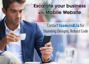 Develop mobile website for your business in 4 week