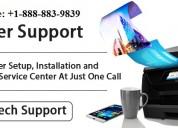 Printer customer support number usa