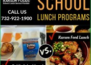 Healthy school lunch service nj - karson foods