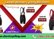 Summer sale 2019 | castelli women bib shorts