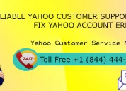 Yahoo email support number call now +1 (844) 444-4