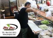 Try healthy food at healthy restaurant - pita plus