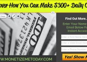 Discover how you can make $300+ daily online