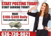 Copy paste and earn $300 daily