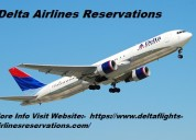 Delta airlines reservations | delta airlines