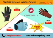 Big offer on castelli women gloves|classic cycling