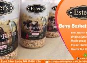 Berry basket granola bars