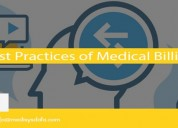 Best practices of medical billing