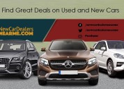 Find deals on cars only at newcardealersnearme.com