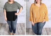 Women's plus size tops, plus size dressy tops - so