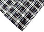 "Uniform plaid fabric - 60"" wide x 1 yard long"