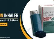 Ventorlin inhaler (salbutamol inhaler) used to tre