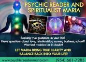 Psychic reader & spiritualist maria