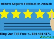 Dial +1-844-444-4171 for remove negative feedback on amazon