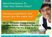 Online tutors and assignment helpers for  college