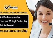 Norton setup - download, install, and activate